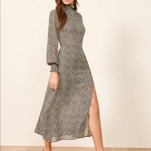NWT Reformation Georgina Midi Dress 2